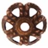 Bead Caps Old Copper 4mm